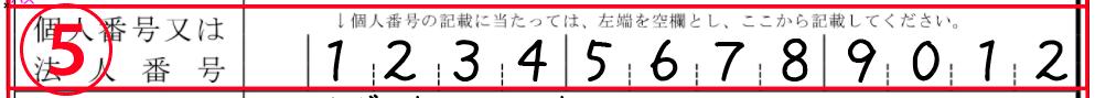 個人番号(マイナンバー)