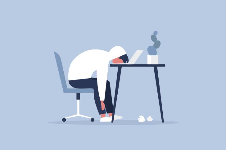 ブログ初心者が挫折する原因7:ある日突然、情熱が尽きるから