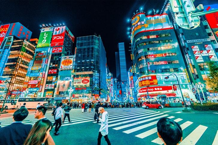 Kさんへのインタビューを行なった新宿・歌舞伎町