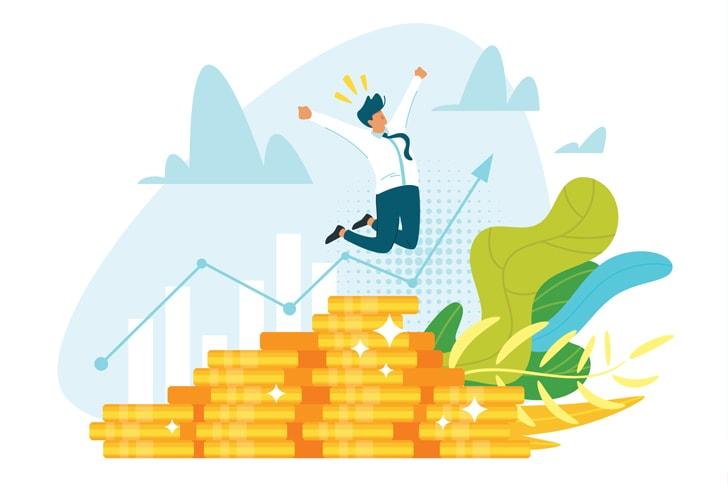 起業のメリット1:サラリーマンよりもお金を稼げるようになる