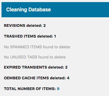 Optimize Databaseの設定方法3